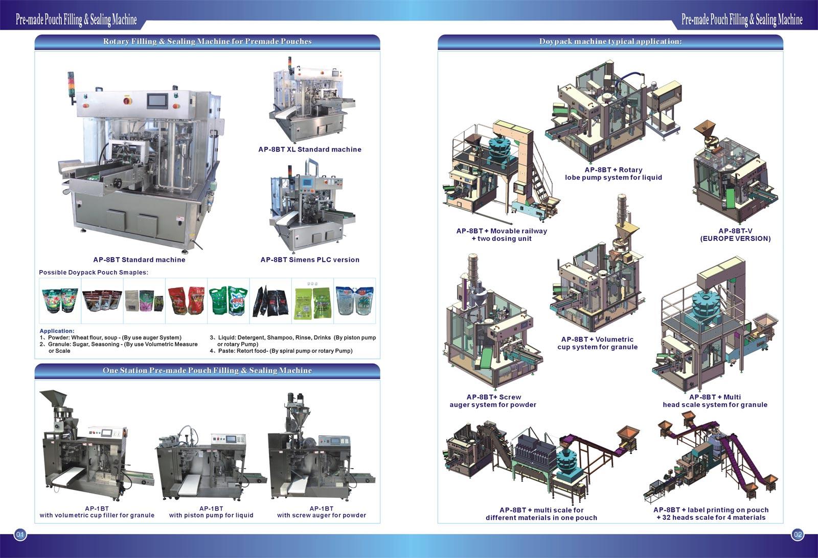 1-Forpackningsmaskiner