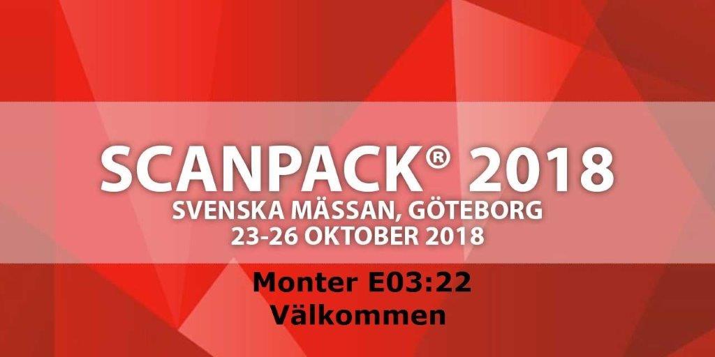 Scanpack 2018 Svenska mässan i Göteborg