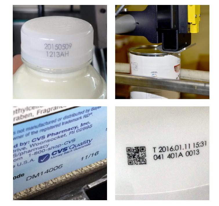 thermal inkjet tryck pa produkter